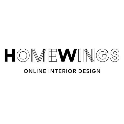 Homewings interior design logo
