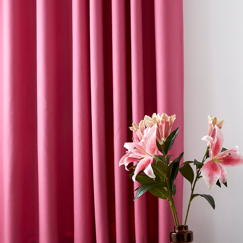 Stitched.co.uk square pink curtains synergy compose