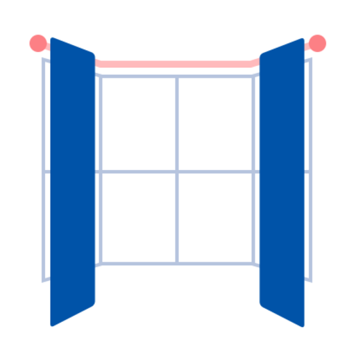 Stitched co uk how to measure bay windows for curtains